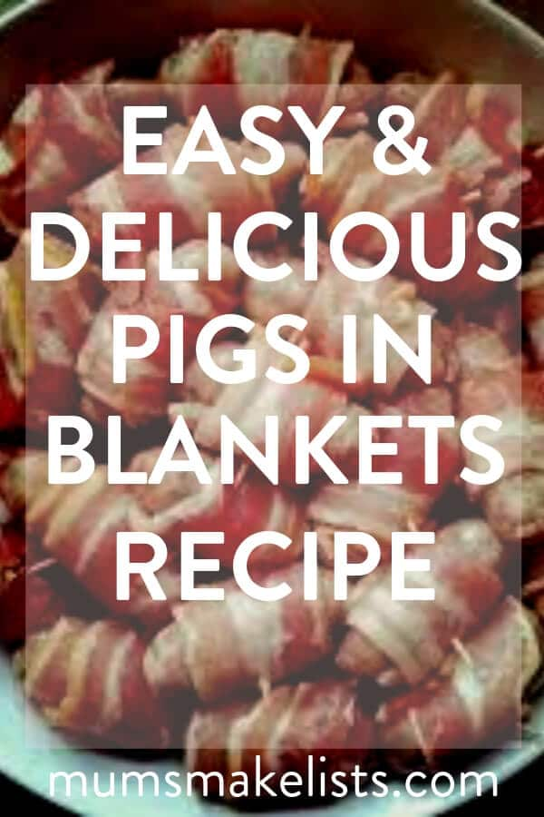 This is an easy British pigs in blankets recipe