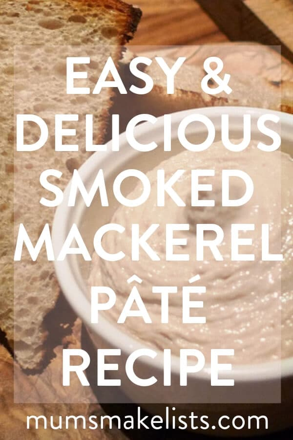 This is my family's smoked mackerel pâté recipe. It's a family tradition to serve this pâté as an appetiser at Christmas. But it is delicious any time of the year.