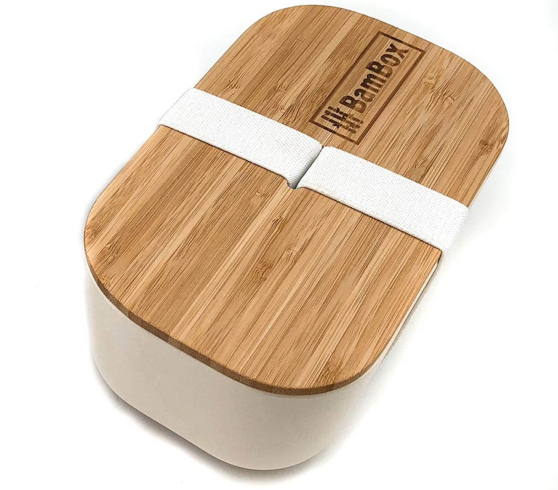 Bamboo bento box, reduce plastic, ways to reduce plastic use, zero waste