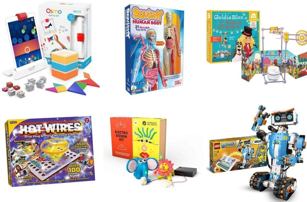 Best STEM toys for kids, gift guide to the best STEM toys for kids in 2019. STEM toys make great gift ideas for kids with curious minds. Here's a list of the best STEM toy gift ideas for kids