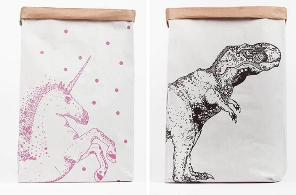Willow & Hive paper bag storage