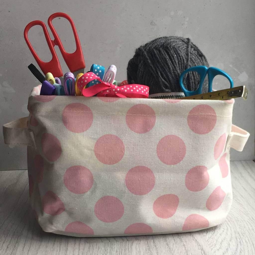 original_contemporary-pink-flower-storage-basket