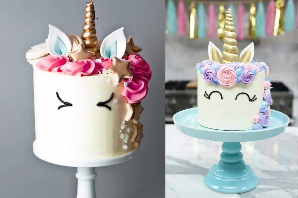 DIY Unicorn cake how-to tutorials