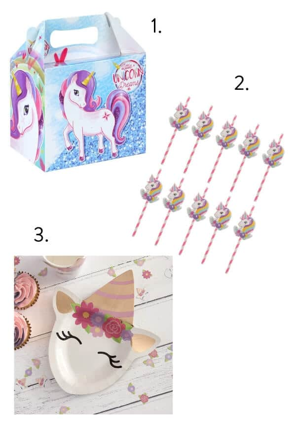 Unicorn themed kids party, kids party, unicorn