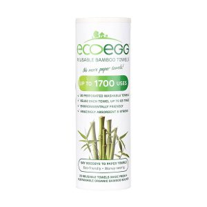 ecoegg bamboo reusable kitchen towels, spring cleaning, easy spring cleaning checklist