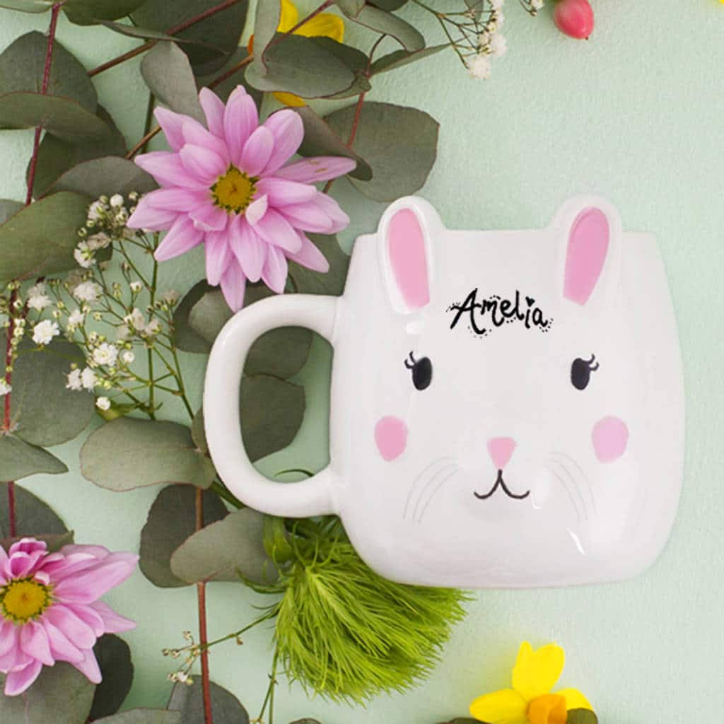 Personalised bunny mug, non chocolate easter gifts for kids, non chocolate Easter gifts for kids, non chocolate Easter gift ideas for kids, Easter gift ideas for kids, Easter gift idea, Kids Easter gift, Easter story stones, Best Easter gifts for children, Easter gifts for children, Easter gifts for kids, non chocolate Easter gifts for kids,