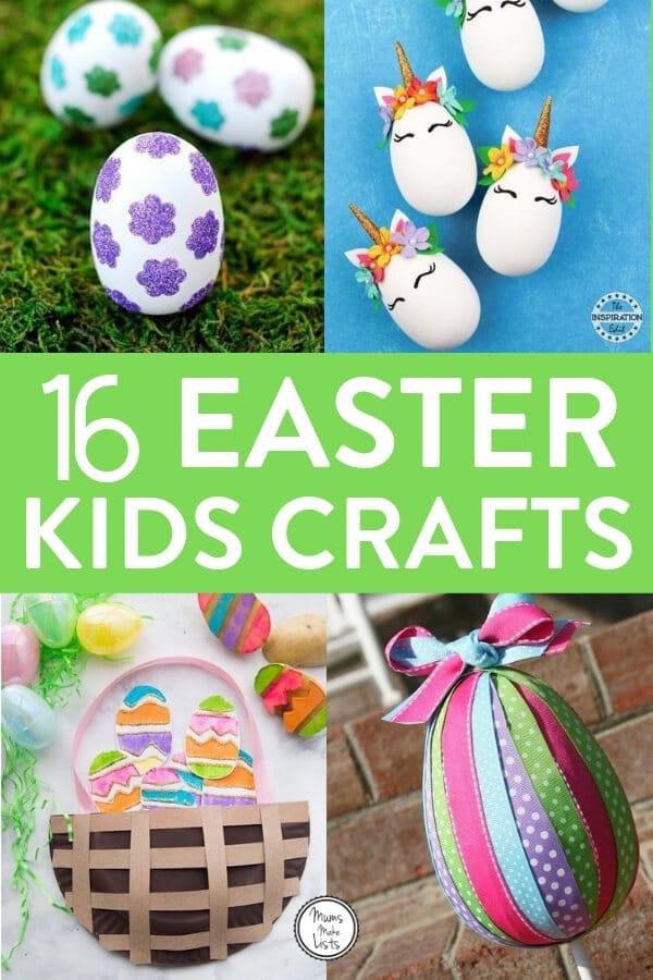 Easter Egg Crafts For Kids Mums Make Lists