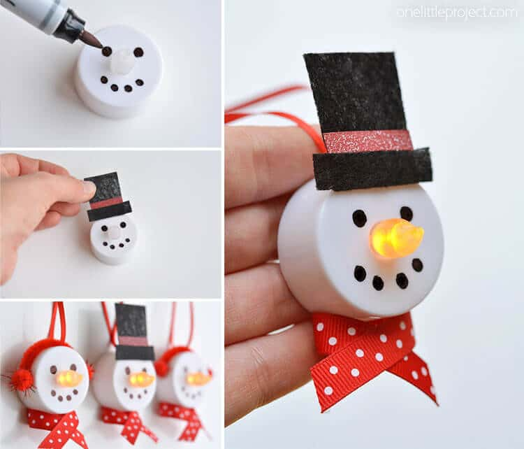 Easy To Make Christmas Decorations.35 Of The Best Diy Homemade Christmas Decorations To Make