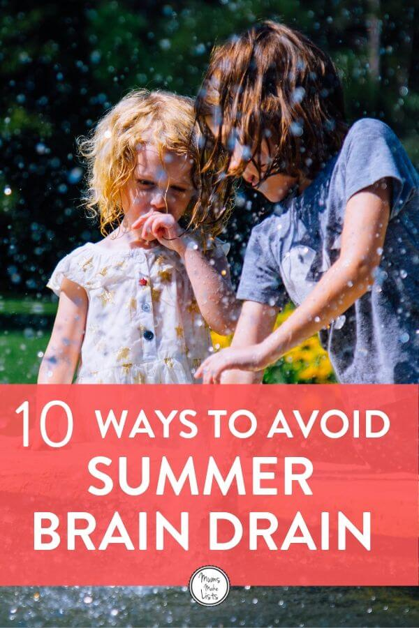 10 Ways to help kids avoid the summer brain drain 1