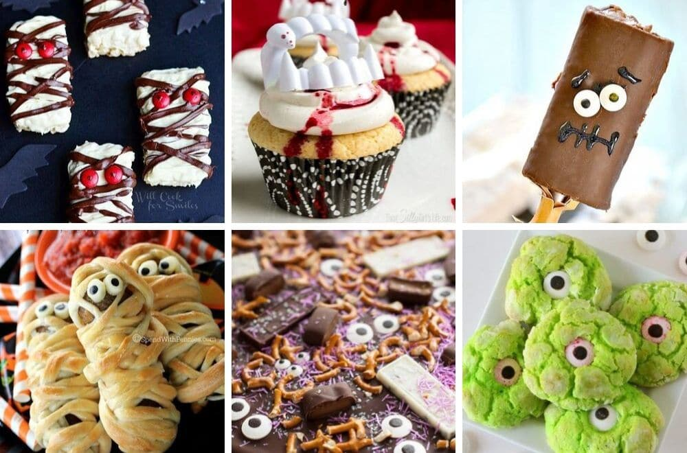 16 Easy kid friendly Halloween treats