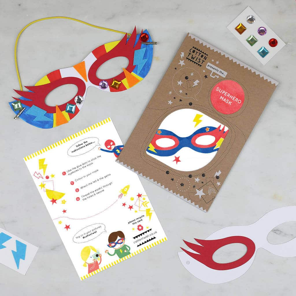 Stocking filler ideas for kids who love super heroes, stocking filler ideas for 7 year old boys