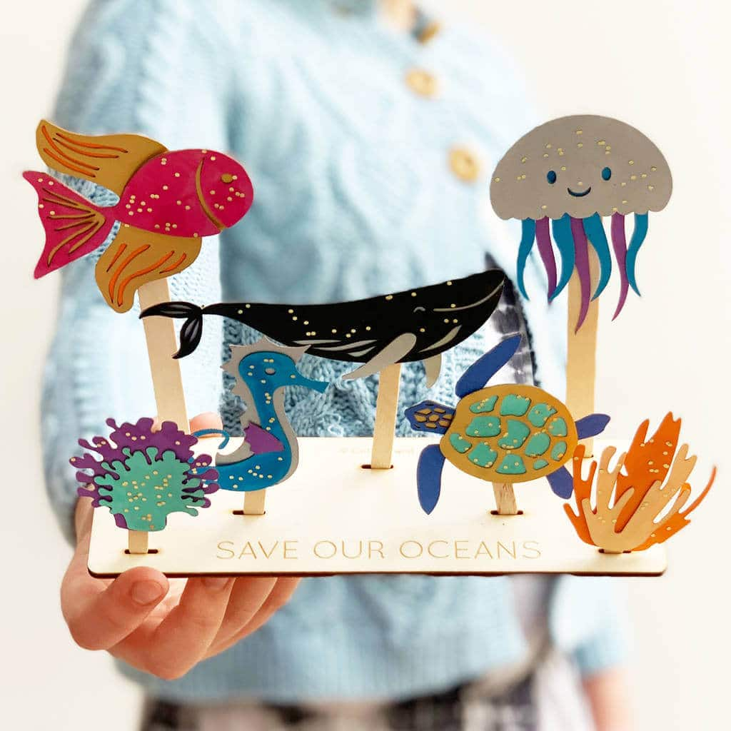 Childrens stocking filler ideas, eco-friendly Christmas gift idea for kids