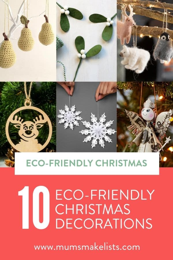 Eco-friendly Christmas decorations, Etsy Christmas, handmade Christmas decorations, environmentally friendly Christmas