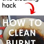 CLEAN BURNT POTS TO LOOK LIKE NEW AGAIN WITH THIS SIMPLE EASY TO DO CLEANING HACK YOU WILL LOVE