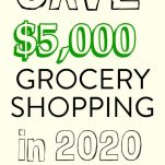 HOW I SAVED $5000 ON GROCERY SHOPPING IN ONE YEAR. 10 SIMPLE MONEY SAVING HACKS