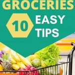 HOW TO SAVE MONEY ON GROCERIES AND CUT YOUR WEEKLY GROCERY FOOD SHOPPING BILL