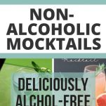 ALCOHOL-FREE COCKTAIL MOCKTAIL RECIPES FOR ALCOHOL-FREE LIVING, TEETOTAL SOBER CURIOUS PARTY DRINKS