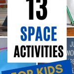 13 STEM / STEAM SPACE ACTIVITY PROJECTS FOR HOMESCHOOL OR EYFS SCIENCE ART OUTER SPACE FUN