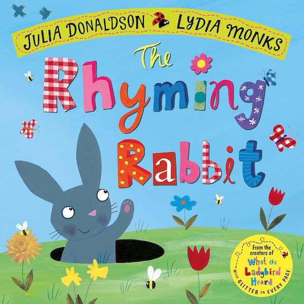 The Rhyming Rabbit, non chocolate easter gifts for kids