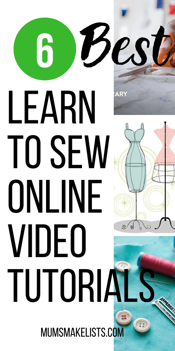 Best online sewing courses, learn to sew online tutorials, best sewing tutorials, video sewing tutorials, sewing tutorials for beginners