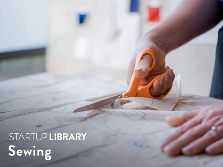 Sara Alm Startup Sewing Library, BluPrint online sewing course