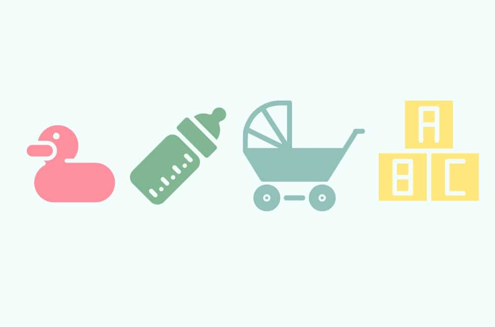 THE ULTIMATE BABY REGISTRY CHECKLIST | MAKE MAKE LISTS