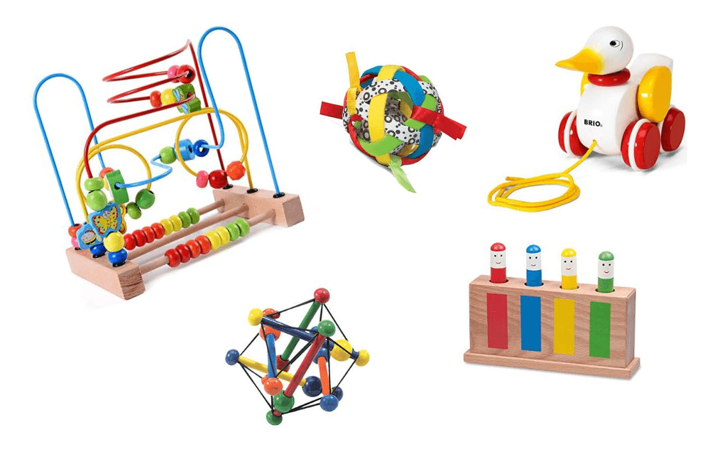 best essential baby development toys for the first year