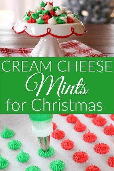 Cream cheese mints for christmas, Christmas cream cheese mints recipe, cream cheese mints recipe