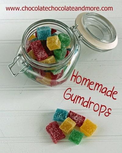 Homemade gumdrops recipe, how to make gumdrops, diy gumdrops, christmas candy recipes