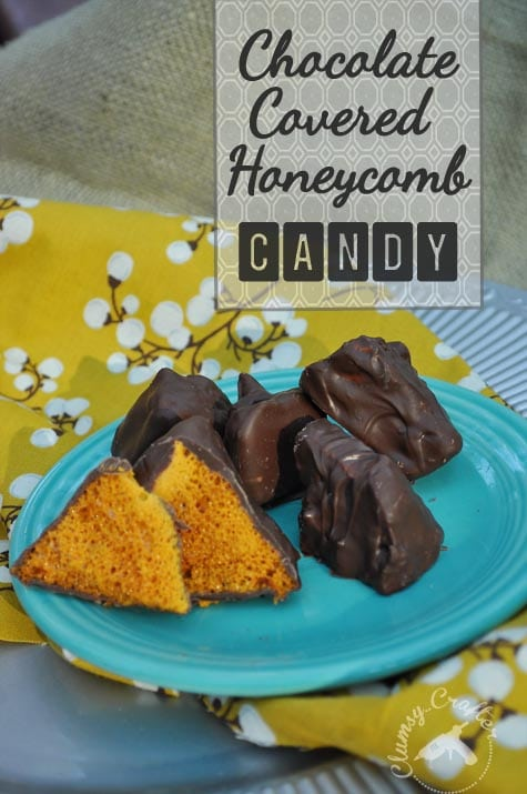 chocolate covered honeycomb candy recipe, homemade christmas chocolates, diy christmas chocolates