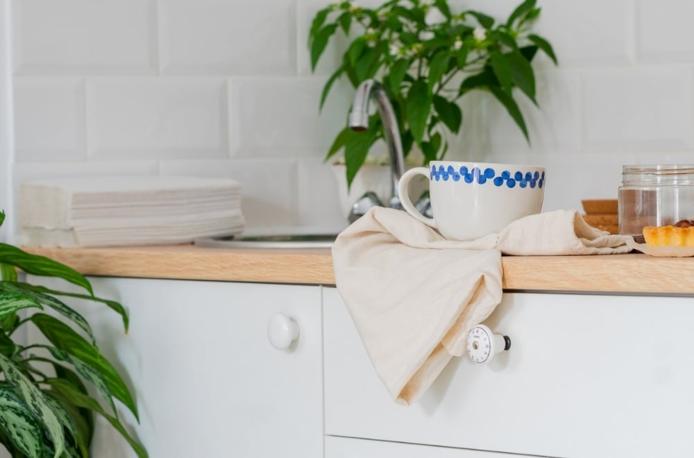 How to spend less time cleaning, Scandinavian kitchen