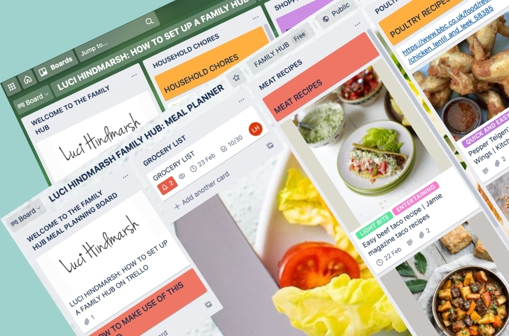 TRELLO MEAL PLANNER BOARD, HOW TO USE TRELLO FOR MEAL PLANNING