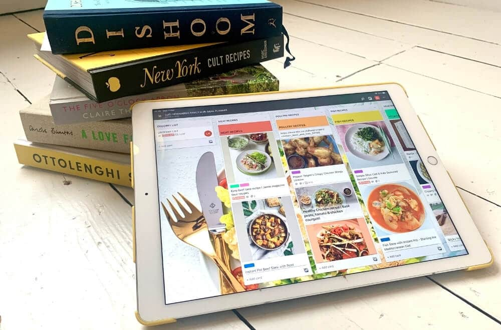 trello meal planning, trello for meal planning, trello meal planning board, use trello for meal planning, meal planning made easy