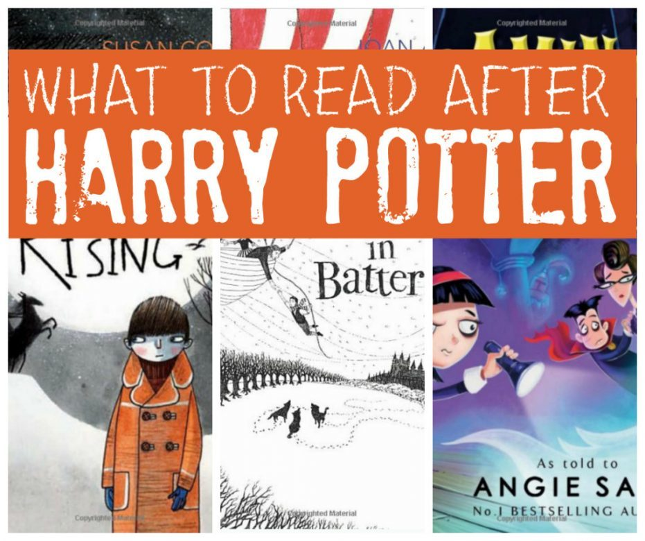 Harry Potter Book Read : Books for kids to read after harry potter mums make lists