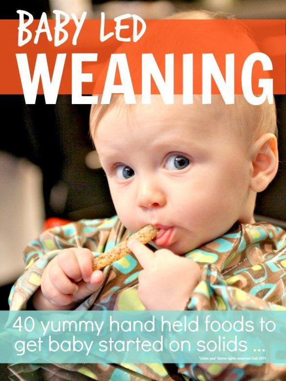 Weaning - Tips and ideas for Babyled weaning, to help you with the babyled weaning method from a mother who used babyled weaning. Ideas for 40 yummy handheld first foods to get baby started on solids #Baby #Weaning #WeaningBaby #WeaningTime #WeaningIdeas #BabyLedWeaning #BabyLedWeaningIdeas