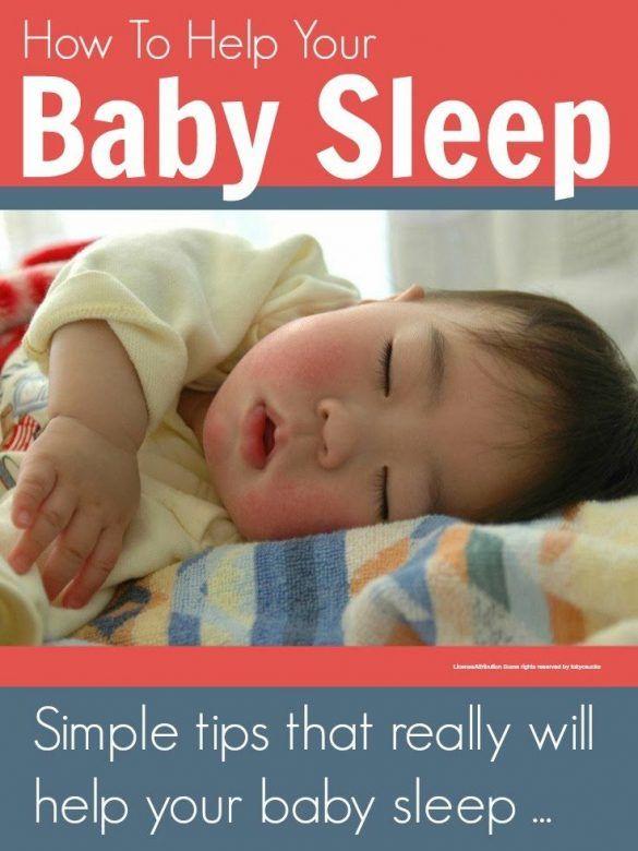 Baby sleep tips - simple tips that really will help your baby sleep