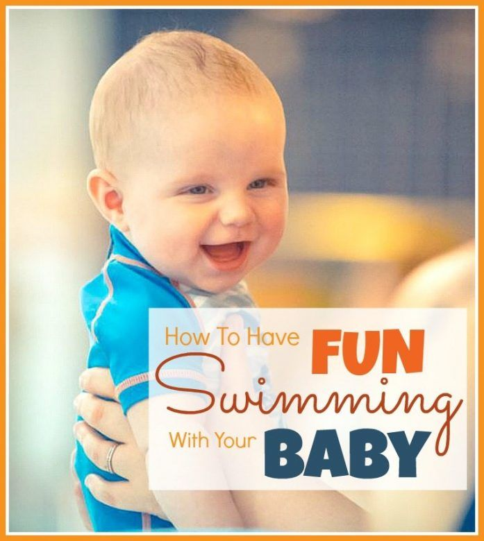 Baby swimming - how to introduce your baby to swimming