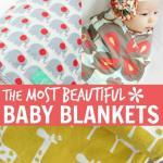 Beautiful Baby Blankets & Swaddle Cloths