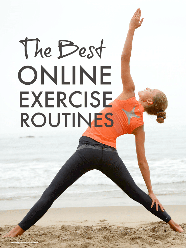 Best online exercise routines ... brilliant online exercise routines to do in your own time at home, perfect for the busiest mum!