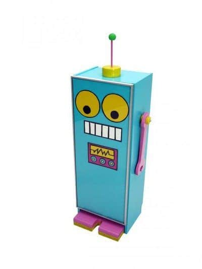 IKEA Hack, Budget Kids Room Ideas, IKEA Billy Bookcase into Billy the Robot