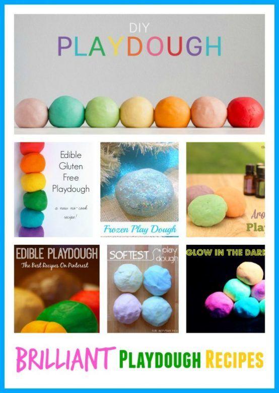 How To Make Edible Playdough