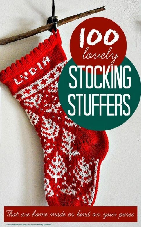 Stocking fillers for christmas