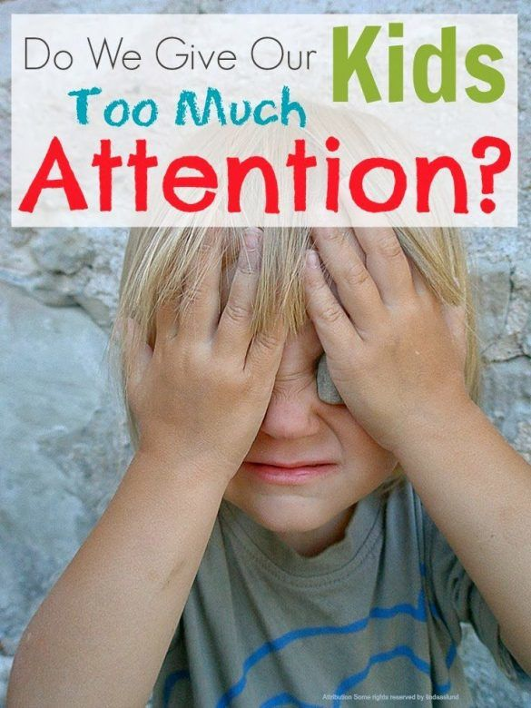 Child development - do we give our kids too much attention and are we thwarting their independence?