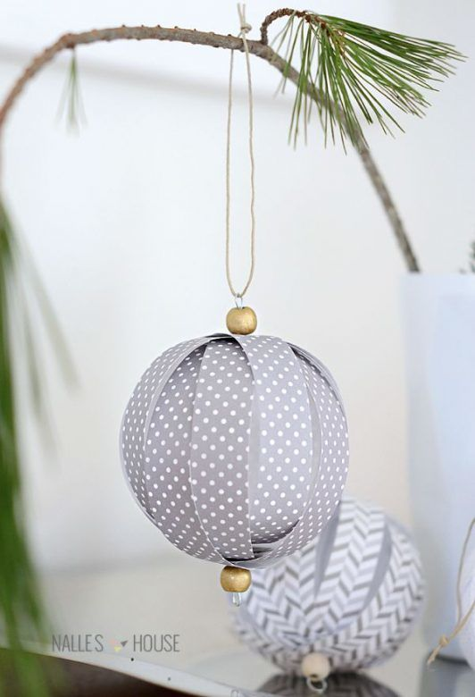 how to make homemade christmas decorations with paper