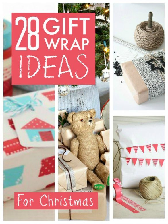Gift wrapping Christmas presents - here are some great ideas for creating really awesome and unique Christmas wrapping in 2017, from paper to twine, washi tape, simple ideas that can be homemade or you simply buy all the supplies you need. This post is guaranteed to help you create beautiful and memorable Christmas gift wrapping this Christmas #ChristmasWrapping #Christmas #ChristmasGifts #ChristmasGifts2017 #GiftWrap #GiftWrapping