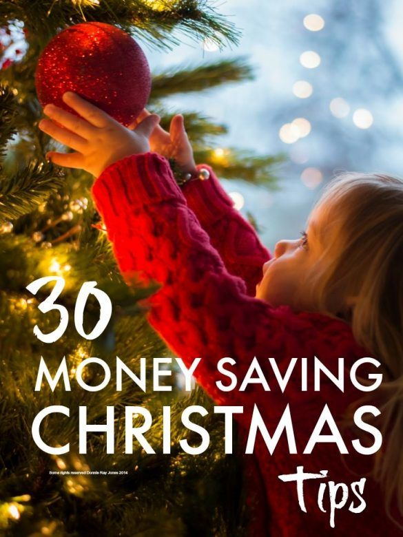 Christmas money saving tips ... 30 simple ways to save money this Christmas and keep it special. Christmas money saving tips - Ideas to help you plan your Christmas budget, ways to save money and be more frugal, so you don't end up with a massive debt come the New Year. #ThriftyLiving #ThirftyThursday #Frugal #FrugalLiving #Christmas #Christmas2017 #Moneytips