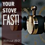 Clean Your Stove Naturally