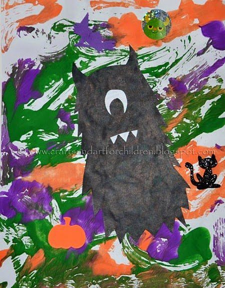 Halloween crafts kids can actually make themselves