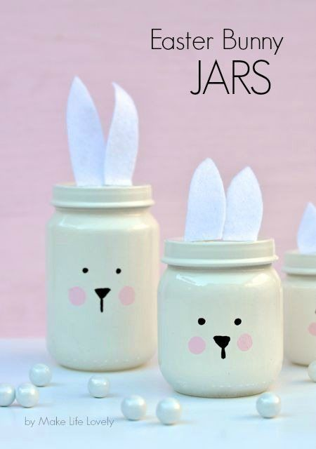Mason Jar Easter Gift Ideas Mums Make Lists