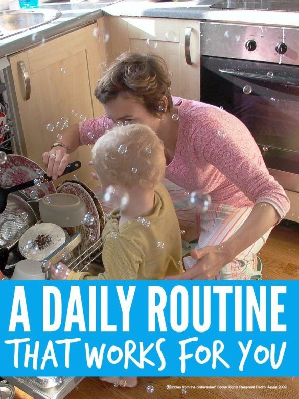Daily routine that works for you
